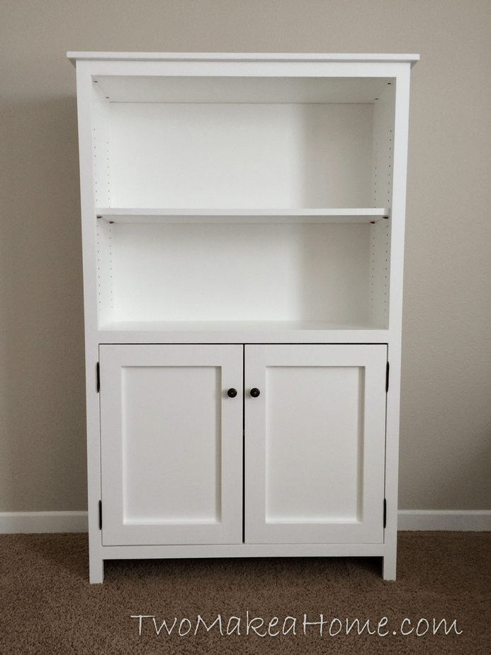 Diy Bookcase Upcycle Two Make A Home