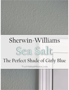 Sherwin-Williams Sea Salt: The Perfect Shade of Girly Blue