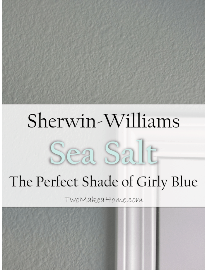 Sherwin Williams Sea Salt The Perfect Shade Of Girly Blue