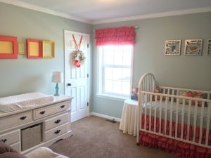 Sweet, and Oh So Girly Nursery