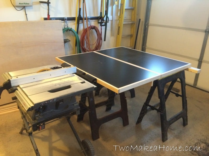Building A Folding Table Saw Outfeed Table Two Make A Home