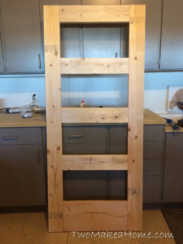 How To Build A Leaning Door Shelf Without A Door Free