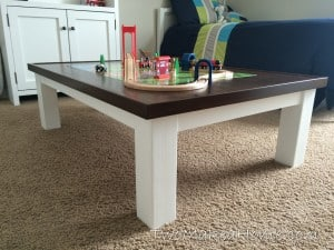 How to Build a DIY Train Table