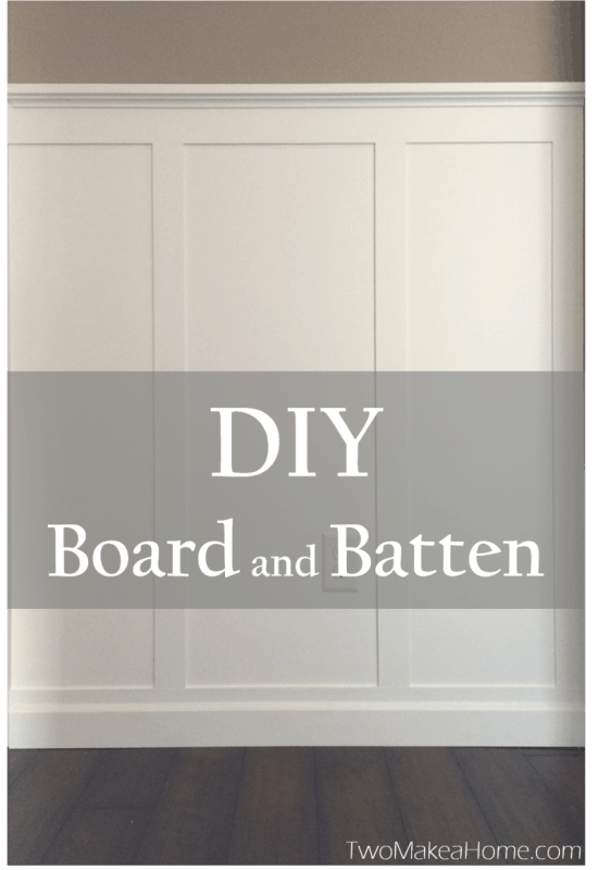 Diy Board And Batten Front Entry Two Make A Home