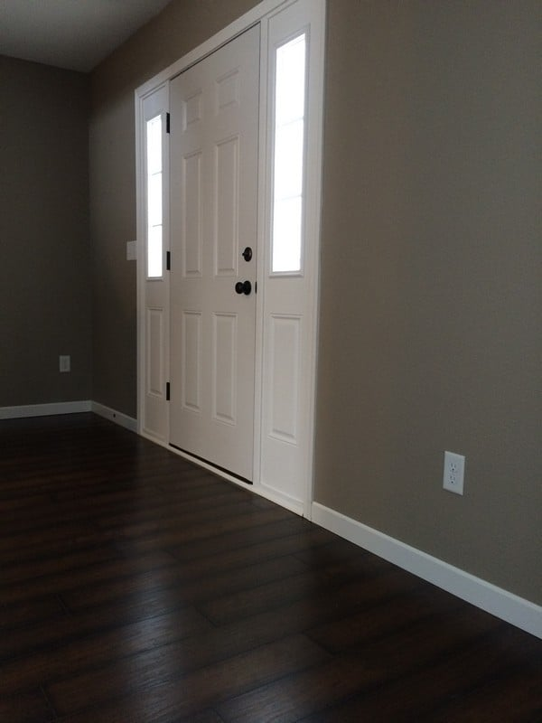 Bare Entry Wall